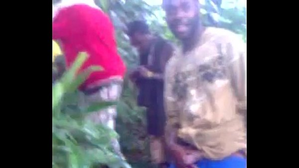African Teen Gangbang In The Forest