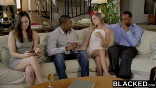 BLACKED First Interracial Threesome For Sydney …