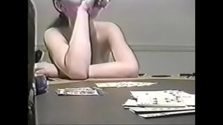 College strip poker – full amateur